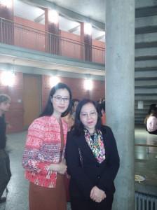 Hanh Nguyen-Schwanke mit  Dr. Nguyen Thi Hoang Anh, Botschafterin der S.R. Vietnam