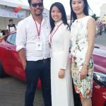 DANKE Chung und Trang vom Organisationskomitee